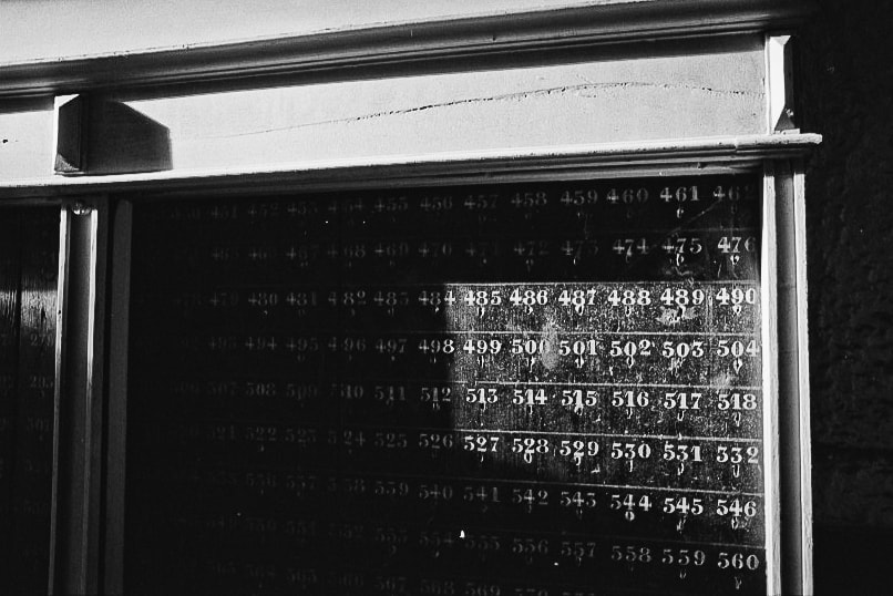 Photograph Numbers by Laurent Holdrinet on 500px