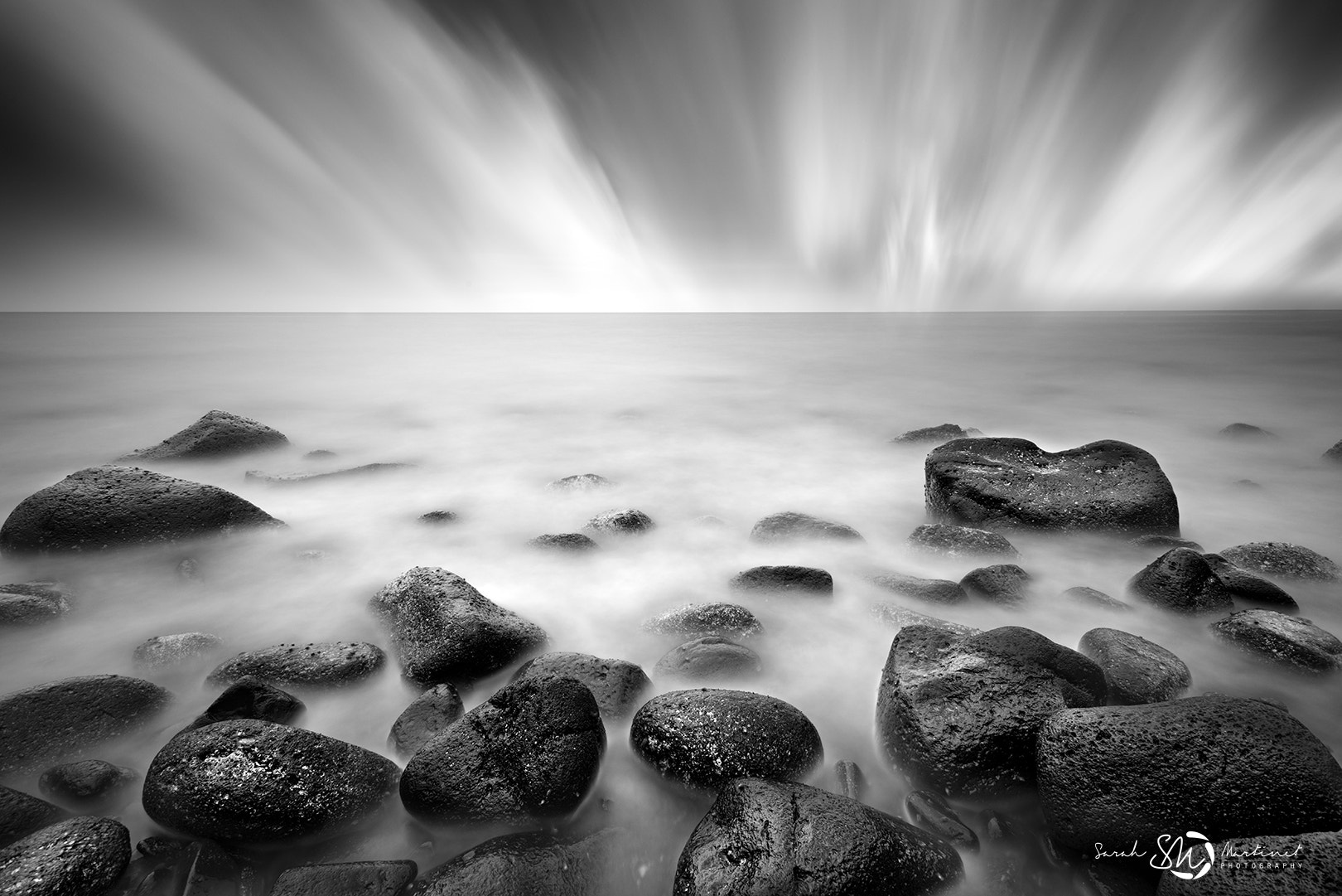 Photograph Black and white explosion by Sarah Martinet on 500px
