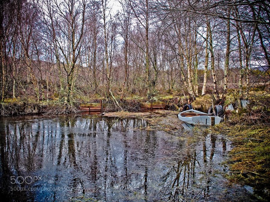 Ruthven Loch, Scotland
