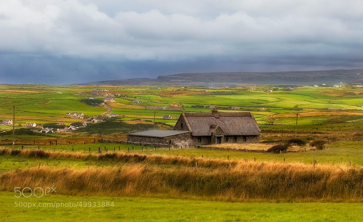Photograph Irish cottage by Lukasz Maksymiuk on 500px
