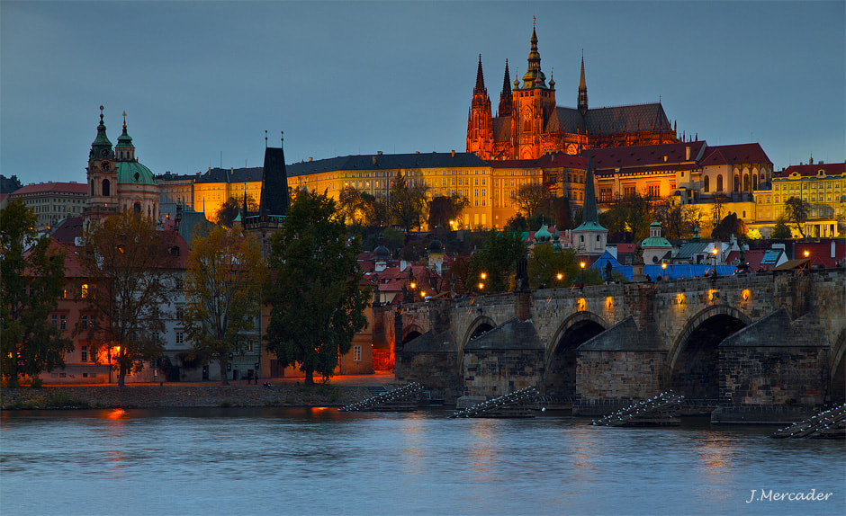 Photograph Sunset in PRAHA by Joan Mercader Illera on 500px