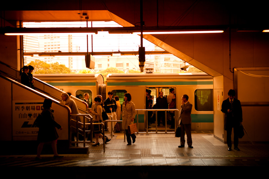 Photograph Subway station by Baris Ozturk on 500px