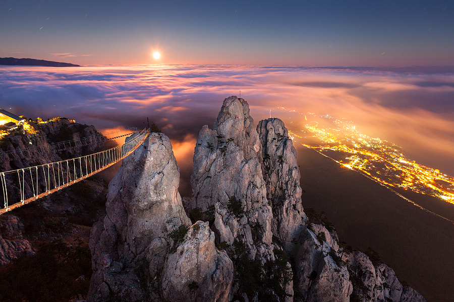 Photograph Ai-Petry. Night, Full Moon. by Denis Belitsky on 500px