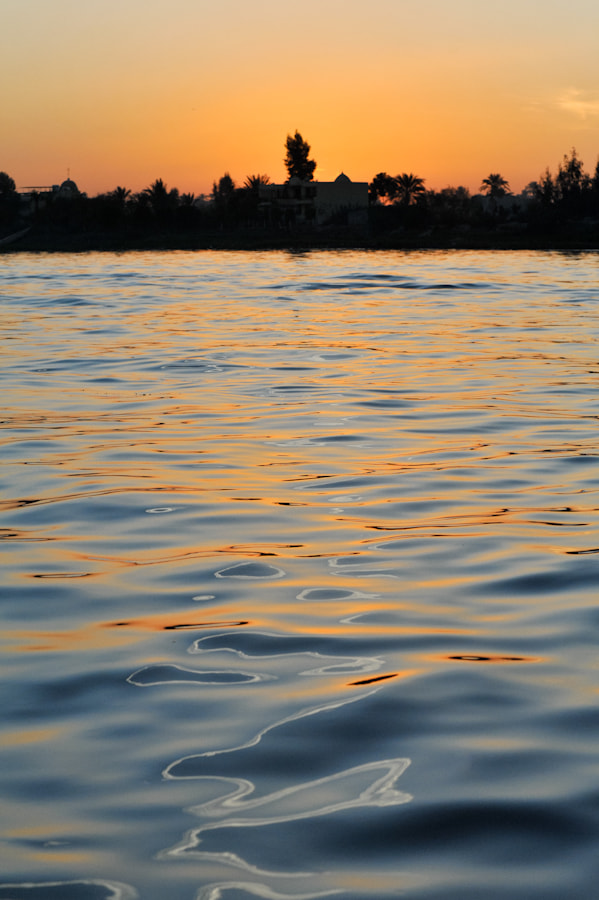 Photograph Sunset over the Nile River by Adam Goldberg on 500px