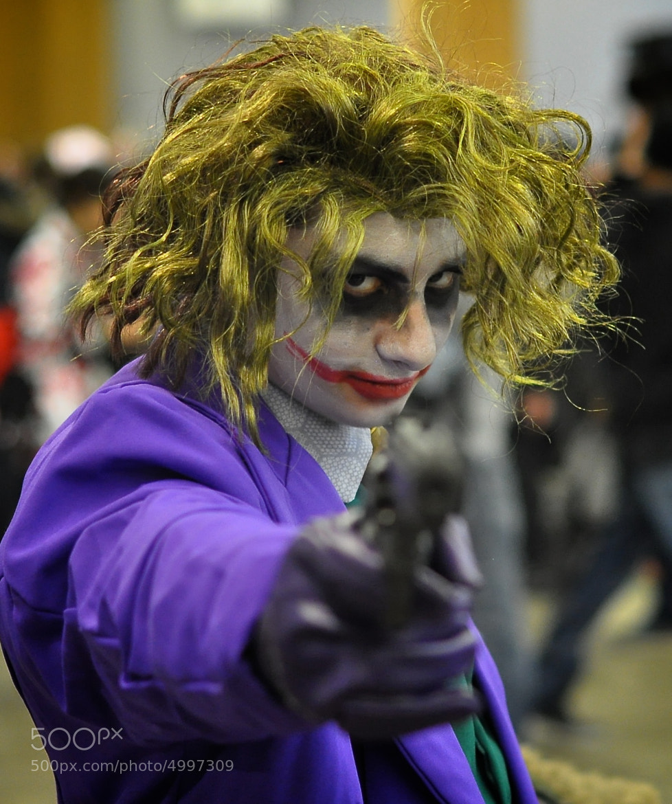 Photograph Joker cosplay by Nicolas Erny on 500px
