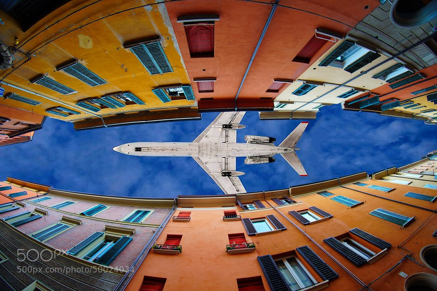 Photograph Flying through clouds and windows by Trefla  on 500px