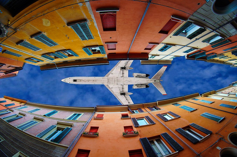 Flying through clouds and windows by Trefla  on 500px.com