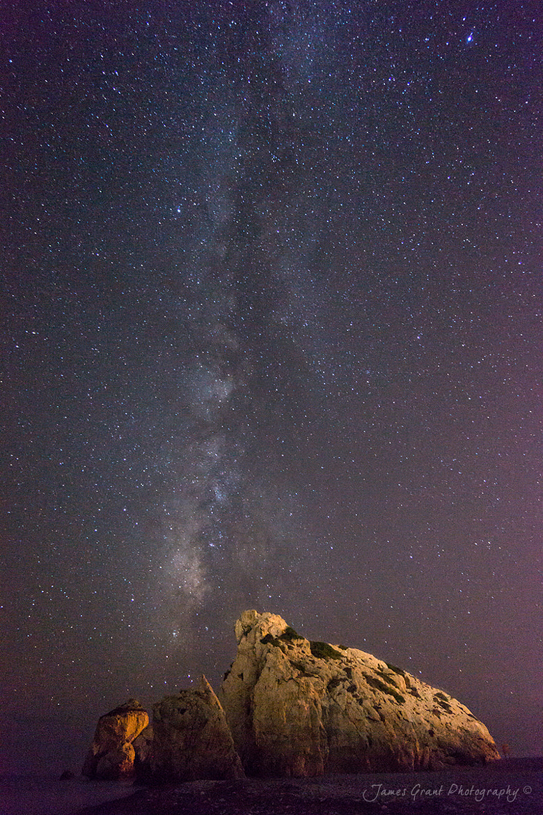 Photograph Aphrodites Milky Way by James Grant on 500px
