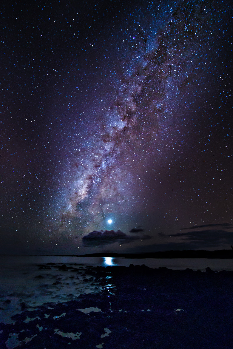 Photograph Venus and the Milky Way by Andrea Spallanzani on 500px