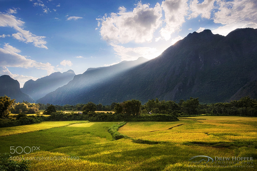 Photograph Vang Vieng Countryside by Drew Hopper on 500px