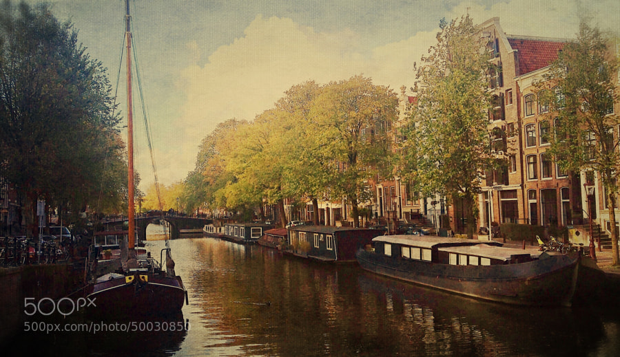 Photograph October in Amsterdam by Magda DJM on 500px