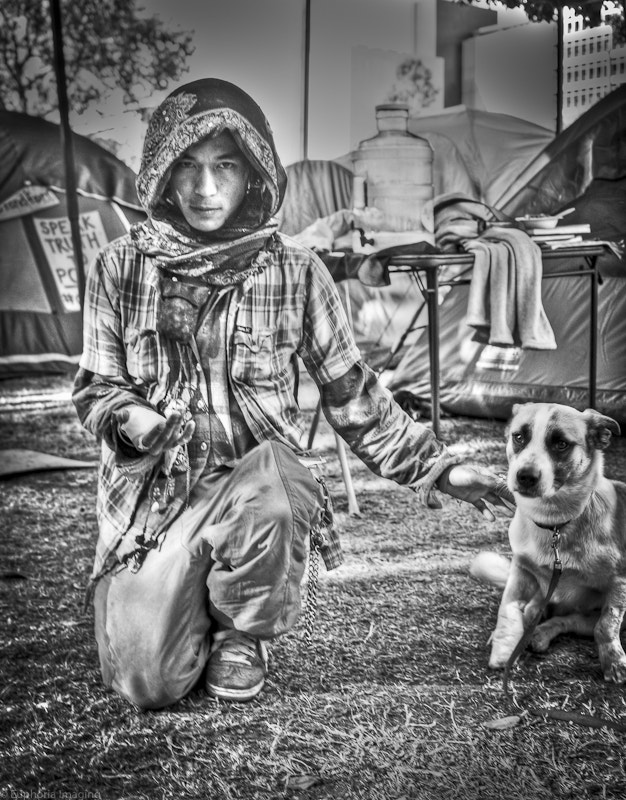 Photograph Healer from Day 26, Occupy Los Angeles by Raul Gonzales on 500px