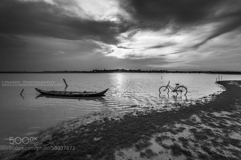 Photograph Boat and bike! by Mardy Suong Photography on 500px