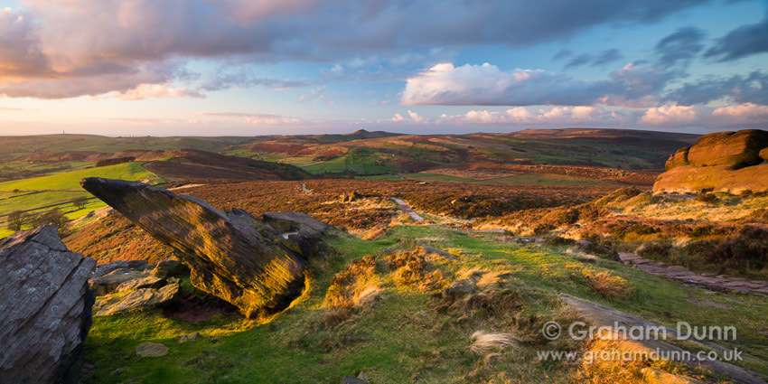Photograph Evening light, Roach End - Peak District by Graham Dunn on 500px