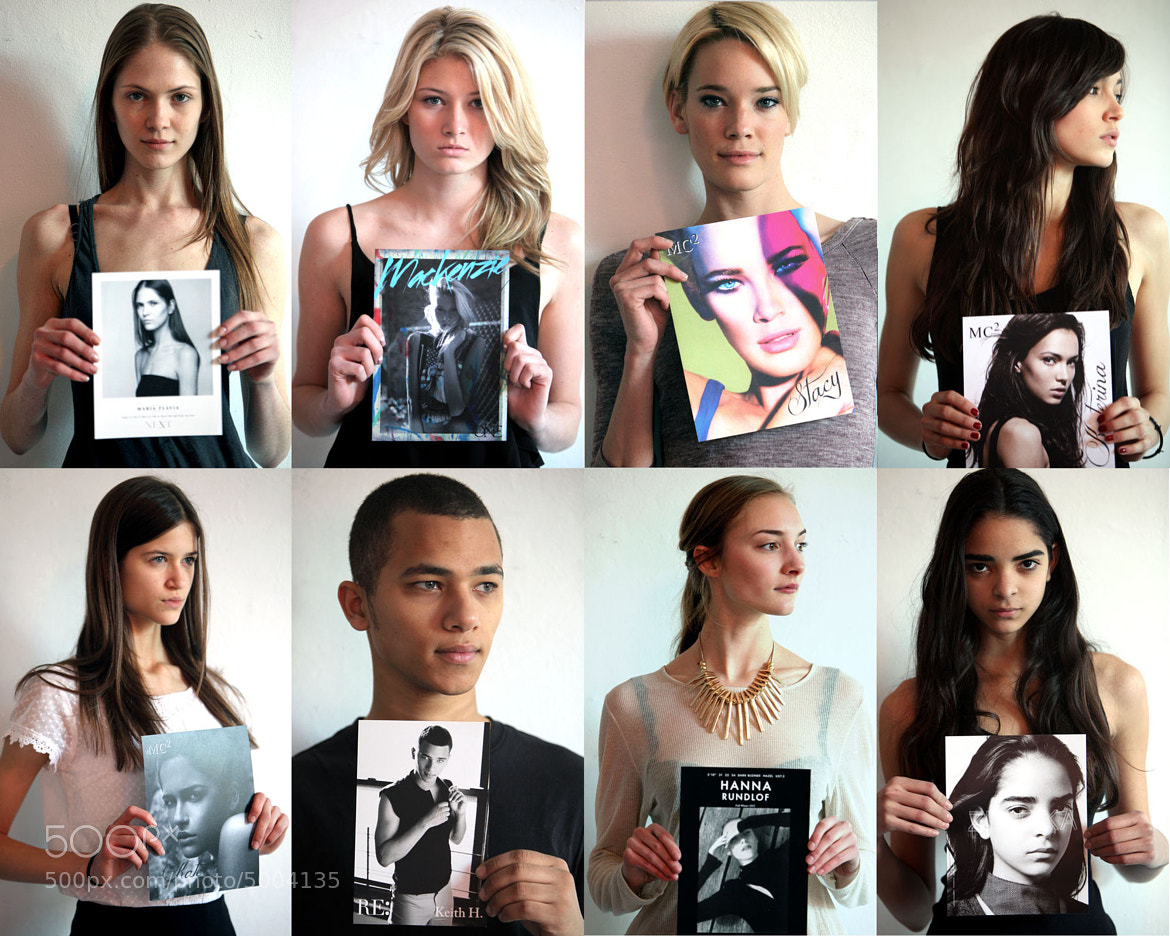 Photograph Models and their cards by Dan Nguyen on 500px