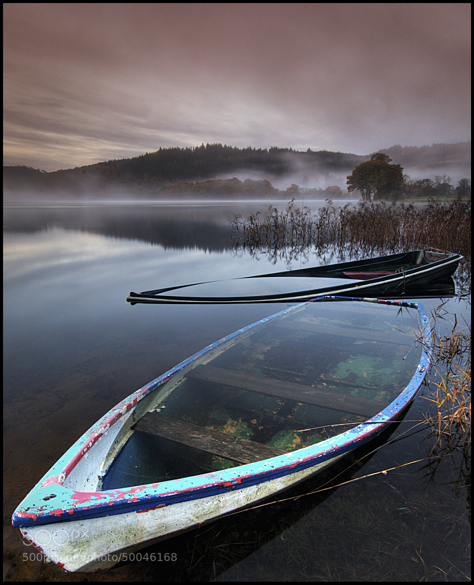 Photograph Sunken Boats Loch Ard by Steve Kerr on 500px