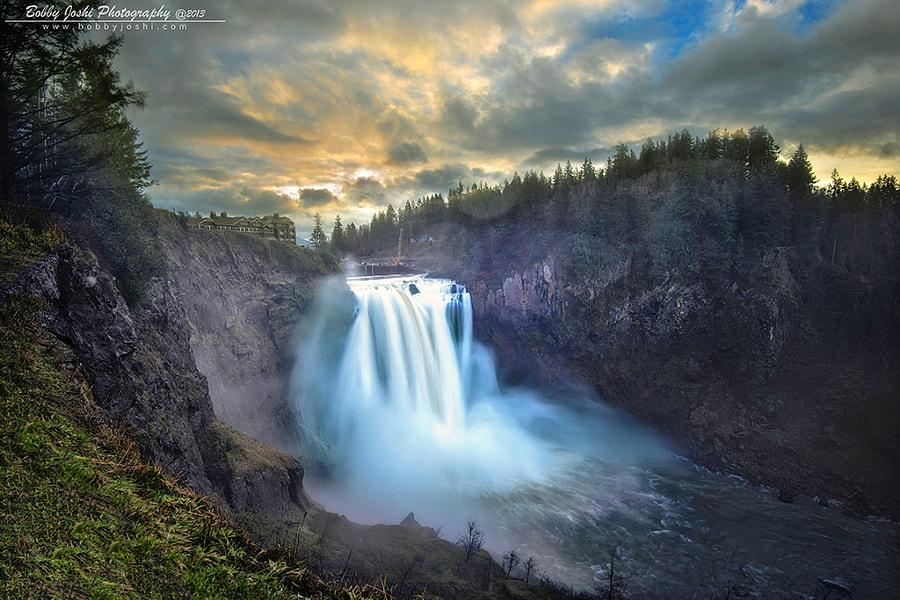 Photograph Snoqualmie Falls by Bobby Joshi Photography on 500px