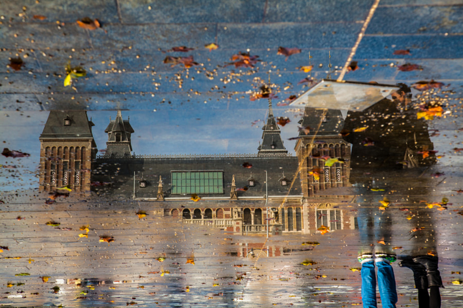 Reflection of The Rijksmuseum