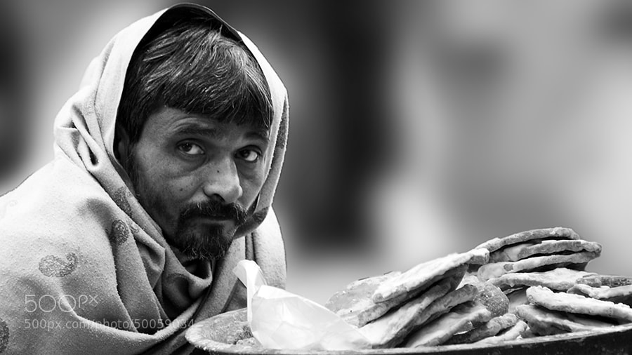 Photograph Roadside Seller by Bahadur Asher on 500px