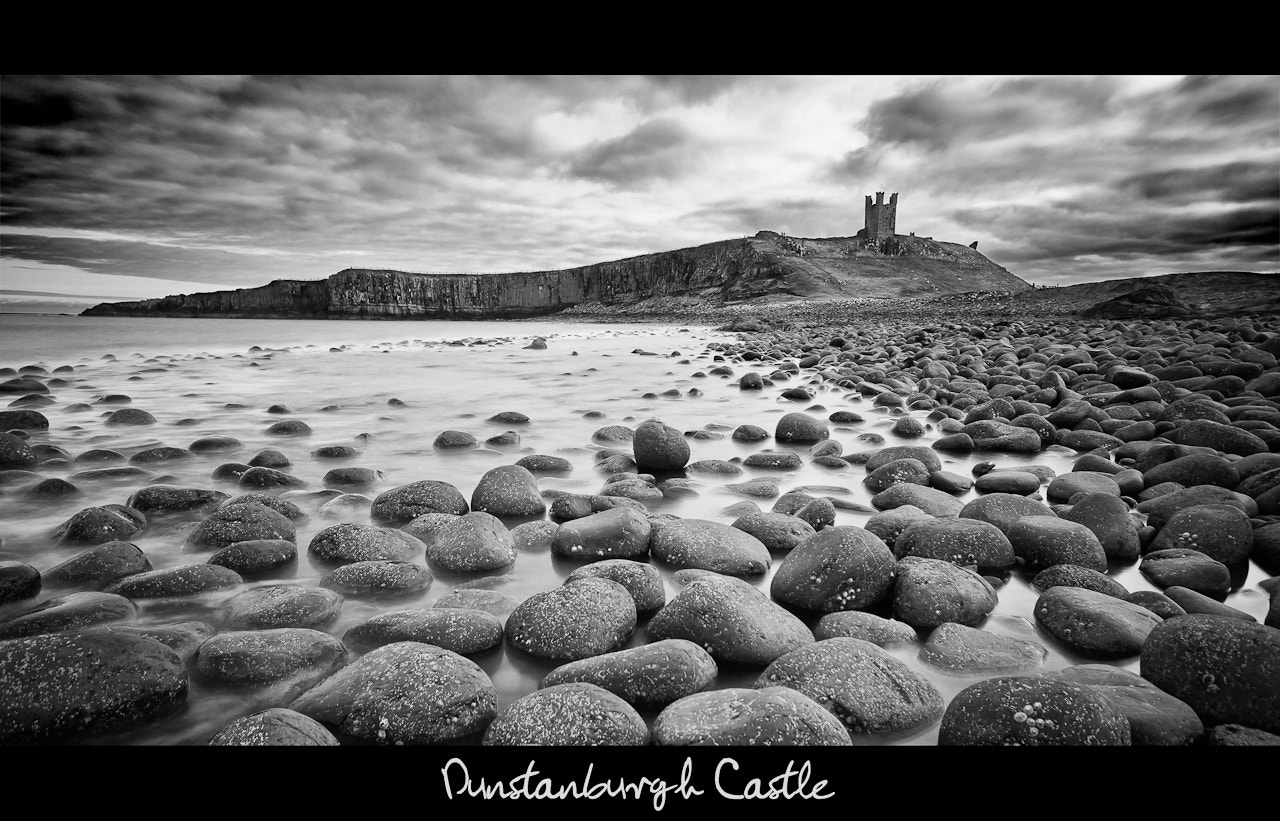 Photograph Dunstanburgh Castle Mono by Scott Marshall on 500px