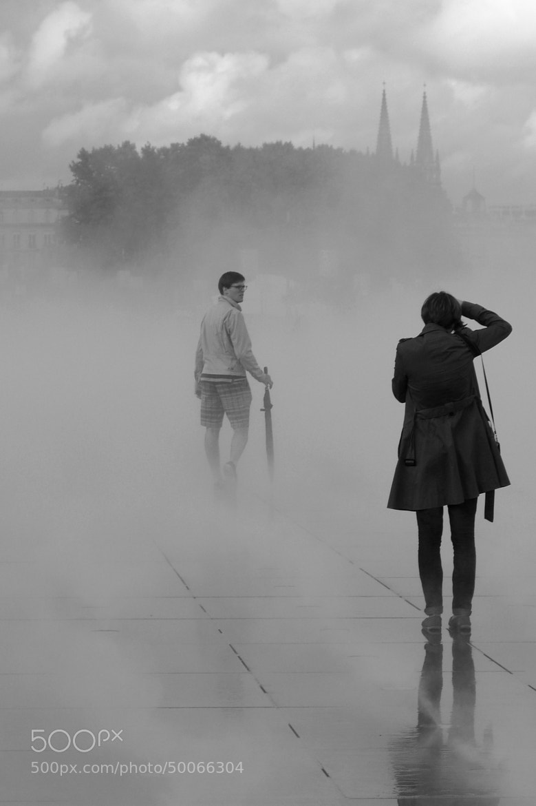 Photograph People in foggy atmosphere by Florence Guichard on 500px