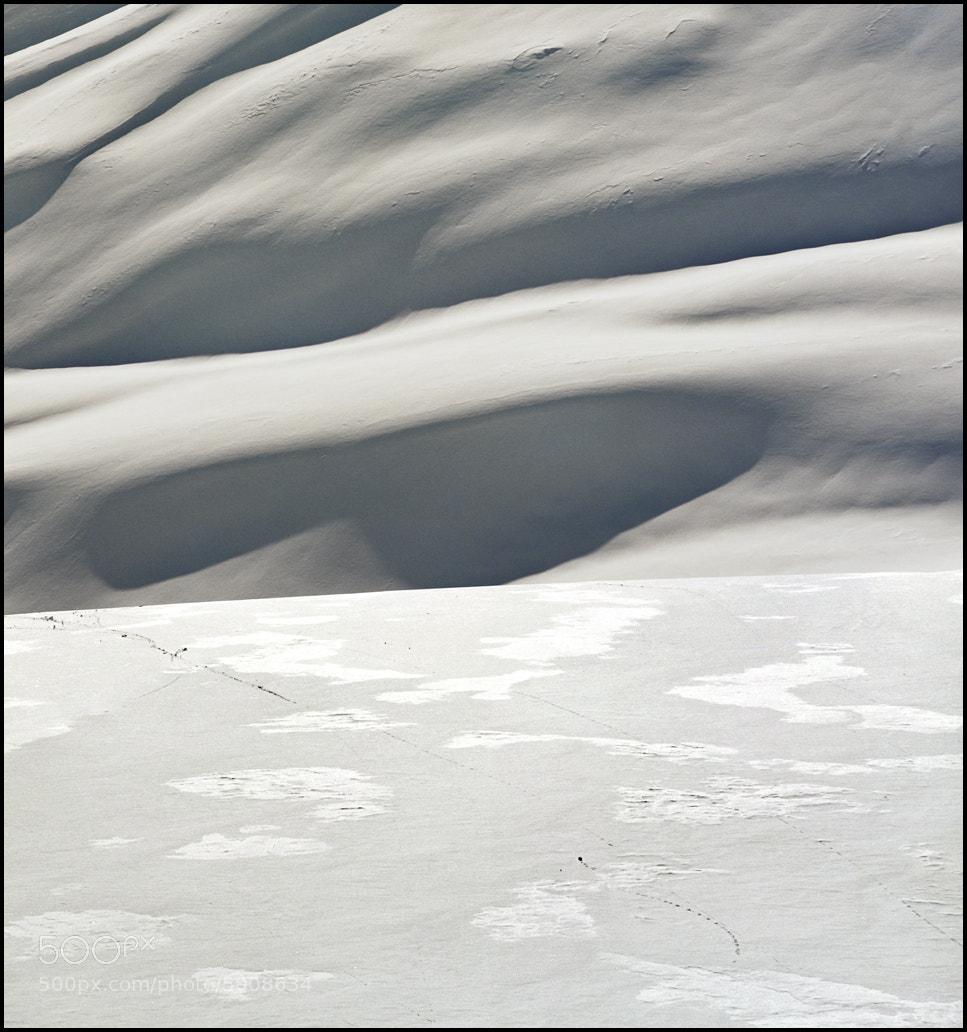 Photograph Snow dunes by Katarina Stefanović on 500px