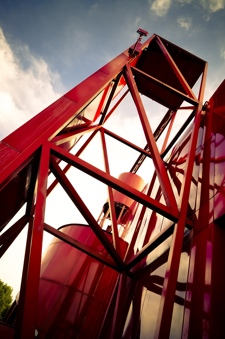 Photograph Red tower by Eric Vermeil on 500px