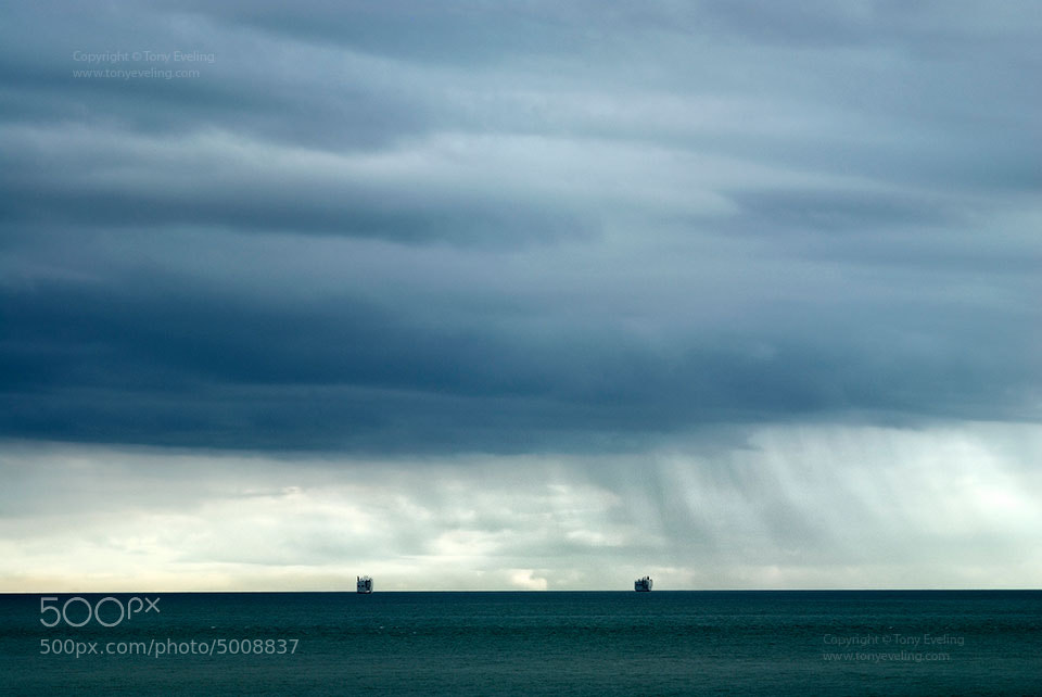 Photograph Tankers on the horizon by Tony  on 500px