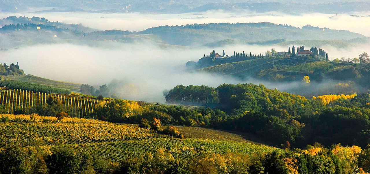 Photograph mist in Tuscany by Patrick Pichard on 500px