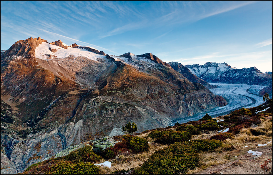 Photograph World Natural Heritage Aletschglacier by Jan Geerk on 500px
