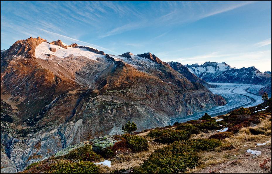 Photograph World Natural Heritage Aletschglacier by Jan Geerk on 500px