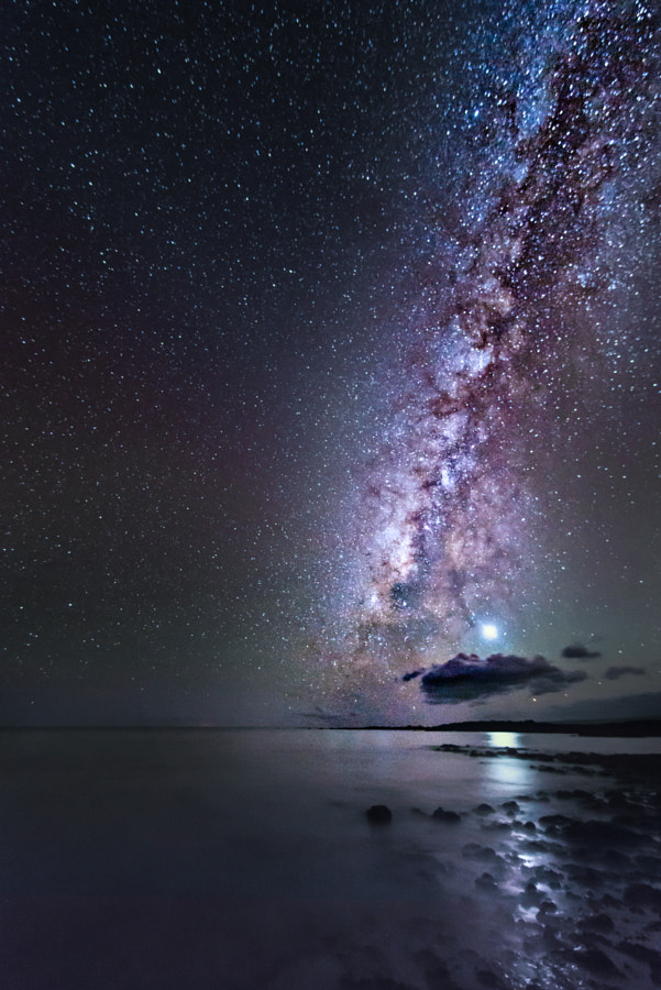 Venus and The Milky Way by Andrea Spallanzani on 500px.com