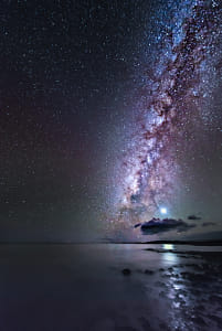 Venus and The Milky Way by Heather Balmain on 500px