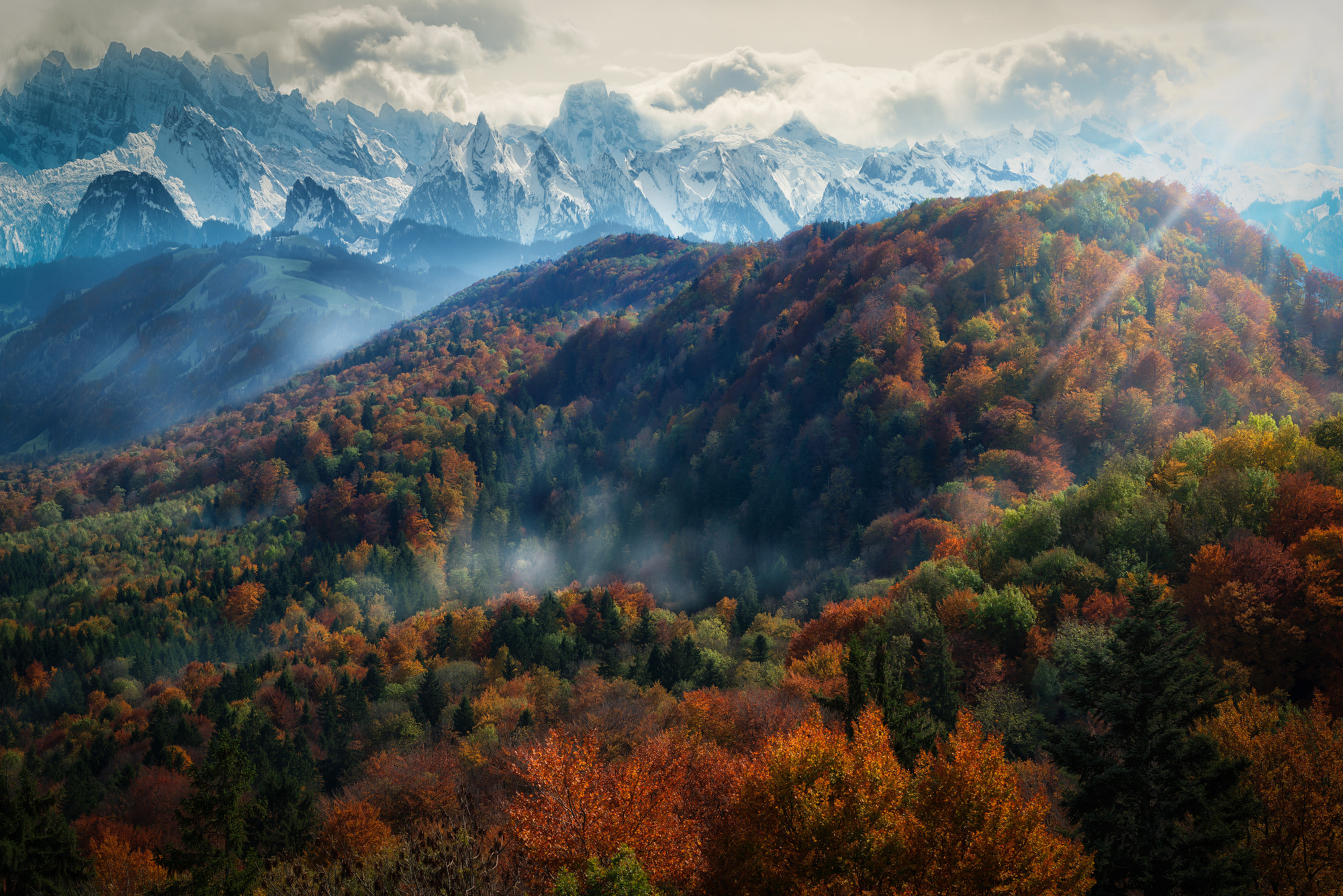 Photograph Autumn in the Alps by John Wilhelm is a photoholic on 500px
