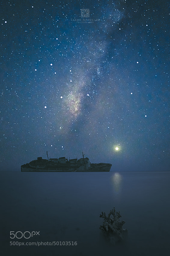 Photograph Venus With The Milky Way by Sakhr Abdullah on 500px