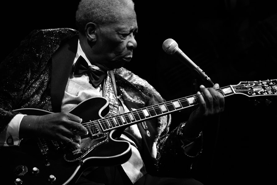 Photograph B.B. King, NYC by Bobi Dojcinovski on 500px