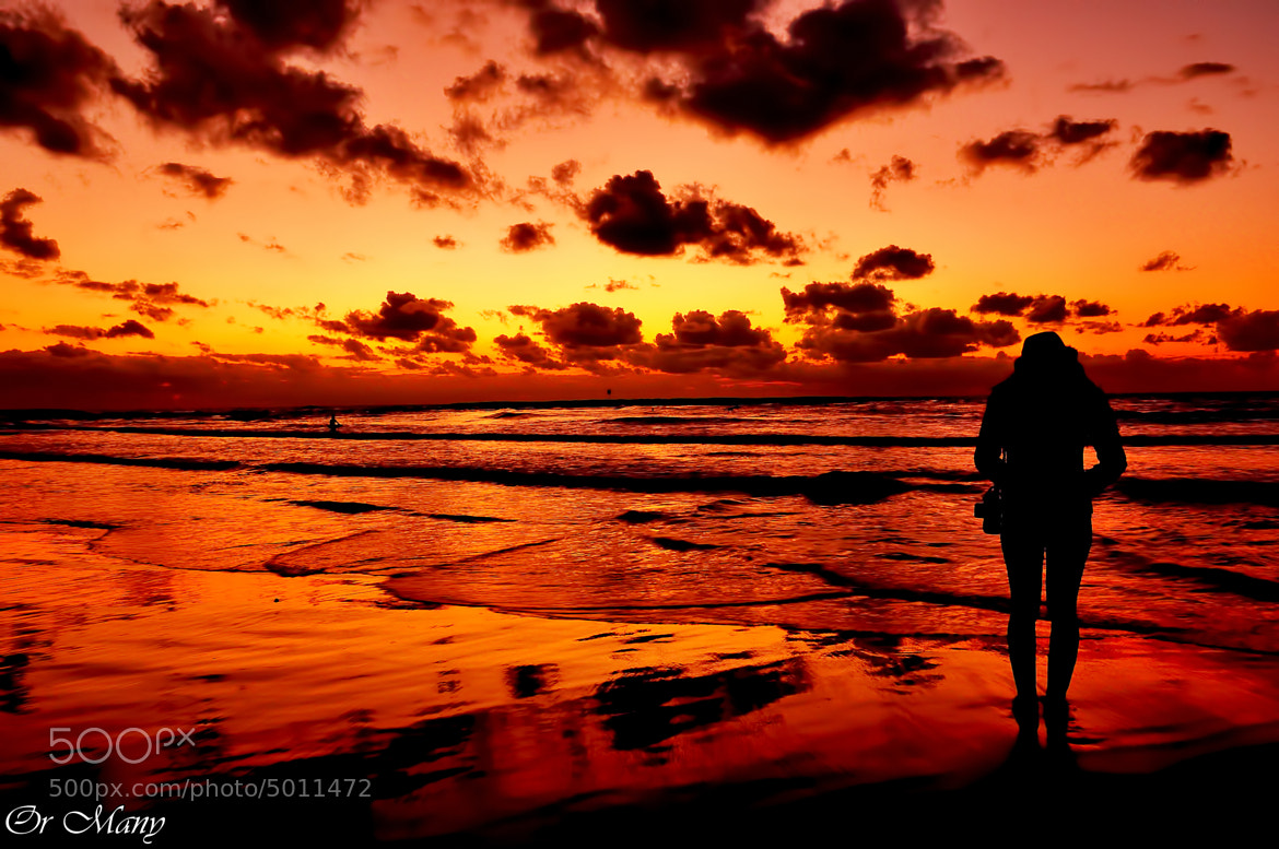Photograph Tel Aviv - Israel Sunset at the beach by Or Many on 500px