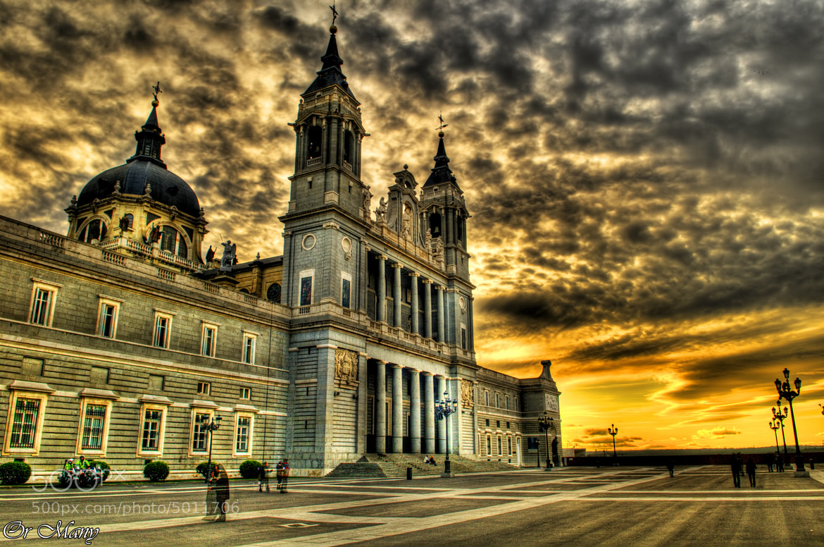Photograph Almudena cathedral Madrid,Spain church by Or Many on 500px