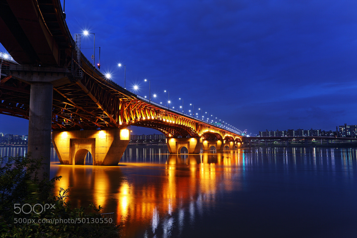 Photograph Seongsu Bridge by Changhoon Choi on 500px
