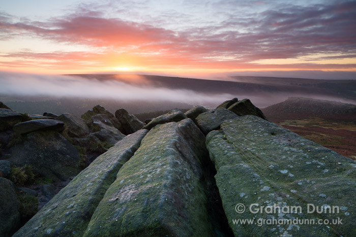 Photograph Dawn mists from Higger Tor - Peak District by Graham Dunn on 500px