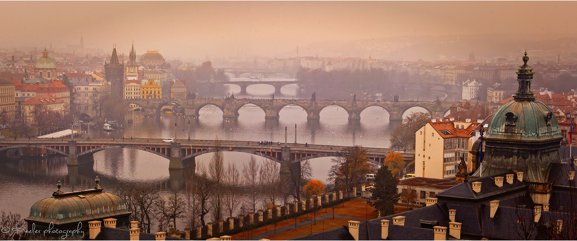 Photograph Bridges of Prague by Kate Eleanor Rassia on 500px