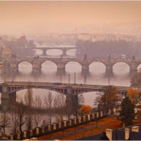 Bridges of Prague by Kate Eleanor Rassia on 500px.com