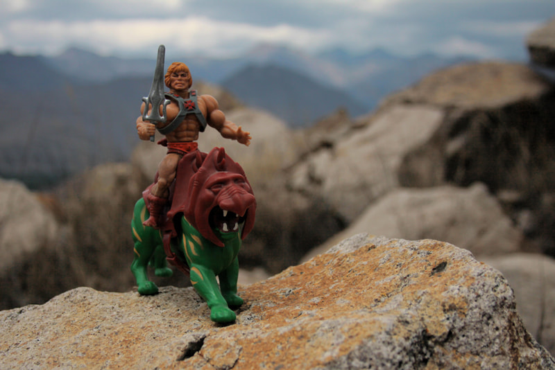 Photograph He man and  battle cat by Mathias Villacís on 500px