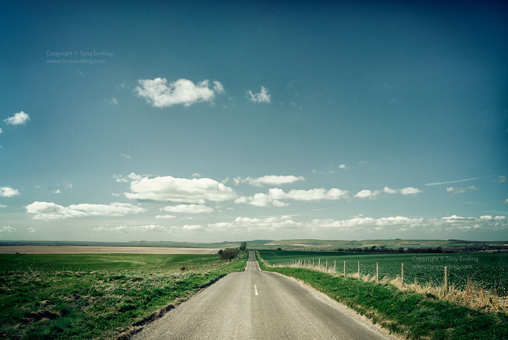 Photograph Road in wiltshire by Tony  on 500px