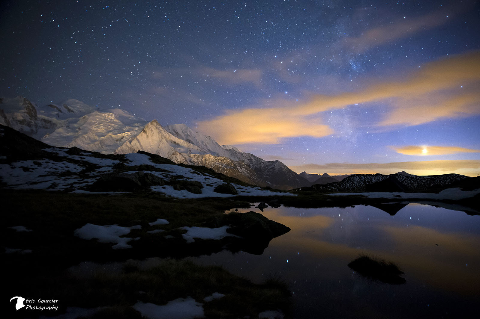 Photograph Vénus, Milkyway and Mont Blanc by Ricou05 on 500px