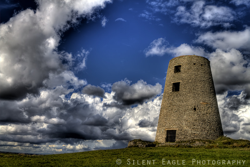 Photograph Ruin windmill, Cleadon Hills by Silent Eagle Photography  on 500px