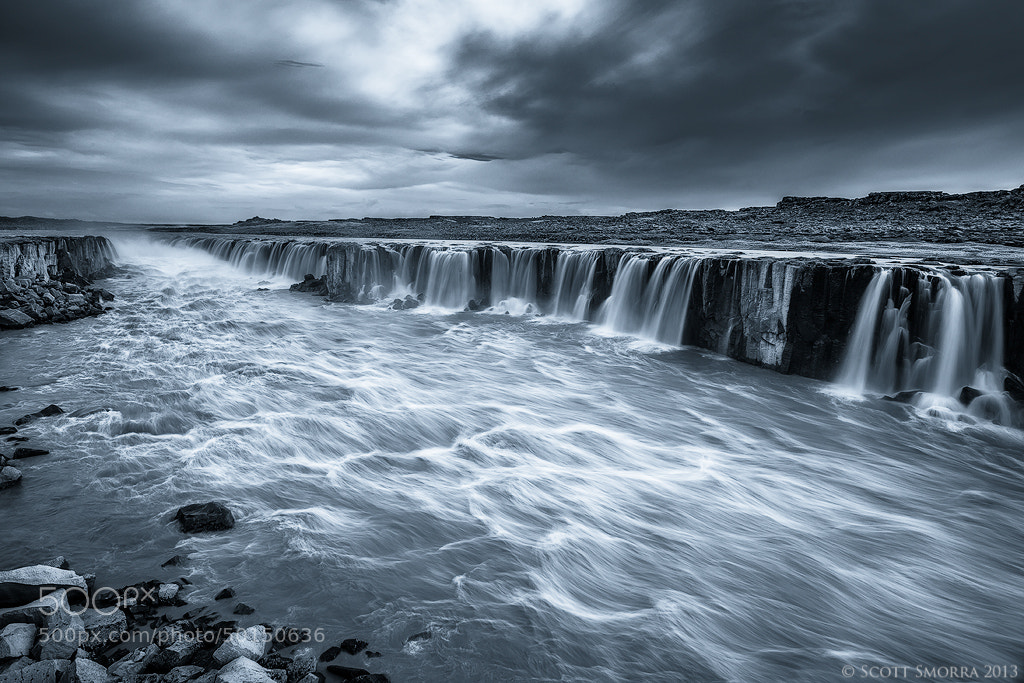 Photograph Selfoss B/W by Scott  Smorra on 500px