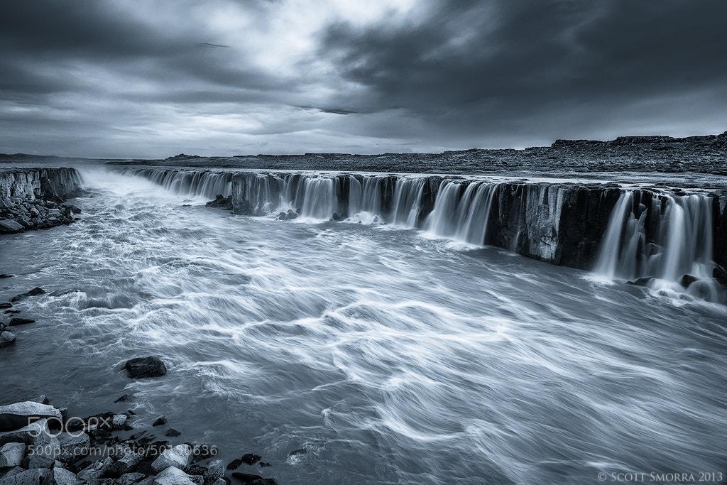 Photograph Selfoss B/W by Scott  Smorra on 500px