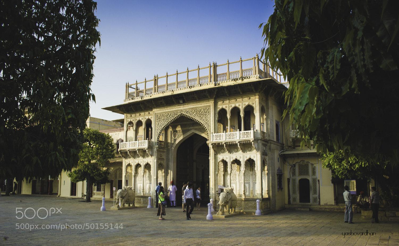 Photograph Royal Courtyard Entrance by Yashovardhan Sodhani on 500px