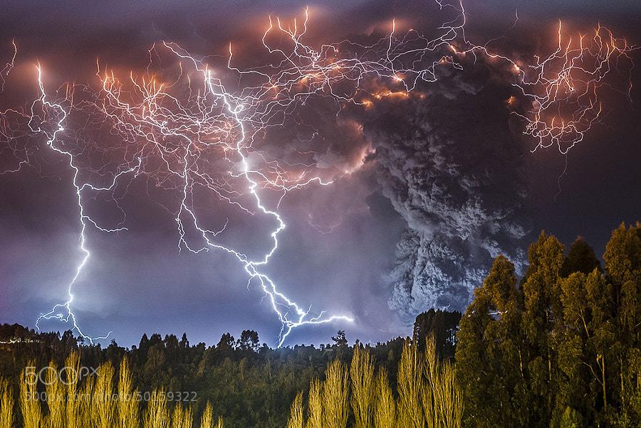 Photograph Erupcion Cordon Caulle by Francisco Negroni on 500px